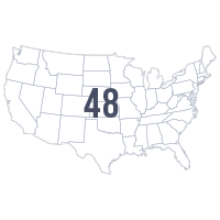 Projects in 48 states